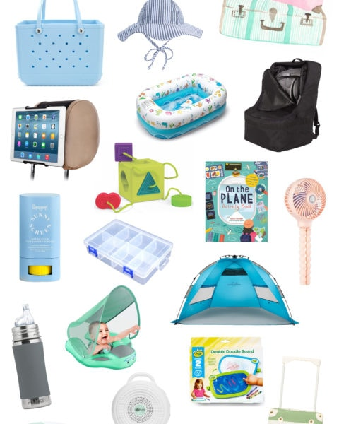 Our Trip + Baby Travel Items