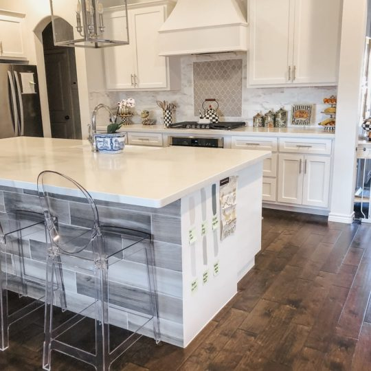 Painting Our Kitchen Island + Kitchen Updates