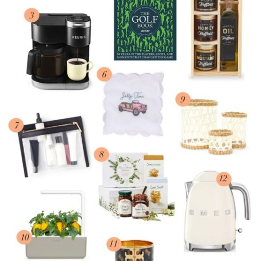 Gift Guide for Parents + In-Laws