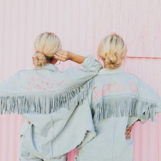 Zara DIY Jean Jacket